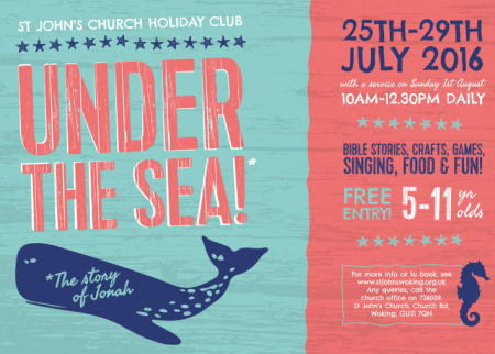 Under The Sea Holiday Club 25th-29th July